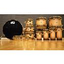 DW Collector's SSC Laquer Specialty Natural to Black,7 pezzi + 4 ratatoms + Mic
