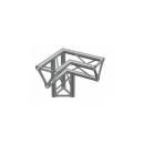 LITEC Angolo ST sez. triangolare 25 cm 3 vie 90° dx