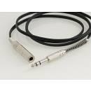 MPE Audio Cavo prolunga con un jack stereo ed una presa jack stereo 6,3mm mod: A19S 20 metri