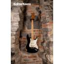 Fender Stratocaster Black Maple Neck Original Vintage 1973 Used