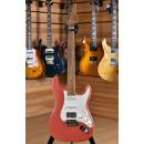 Suhr Custom Limited Edition Classic S Antique Roasted Maple HSS Fiesta Red