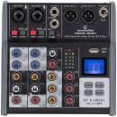 SOUNDSATION MIOMIX 202M Mixer Professionale a 4 Canali con Bluetooth