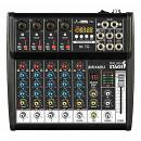 ITALIAN STAGE IS 2MIX6XU MIXER 6 CH CON BLUETOOTH USB ED EFFETTI INTERNI