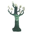 Albero Halloween fantasma 170cm per decorazione di interni ed esterni ludo disco