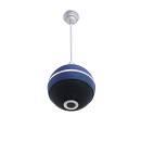 Omnitronic Altoparlante a soffitto WPC-6B 100V ,forma palla(Nero,Rosso,Blu)