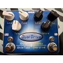 Dual Drive  Arctic white fuzz Honey Overdrive
