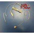 PROEL HCM23SE MICROFONO CONDENSATORE HEADSET ATTACCO SENNHEISER MINI JACK STEREO