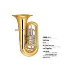 EXTREME JBBB210L TUBA 3/4 IN SIb TUBI DI ACCORDATURA CONDUTTURA E PISTONI NIKELATI / CAMPANA 450mm /