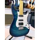 SCHECTER SUNSET CUSTOM SHOP HSS ALDER SKY BLUE