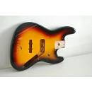 Fender corpo body jazz bass sunburst