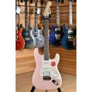 Squier (by Fender) Bullet Stratocaster HSS Laurel Fingerboard Shell Pink