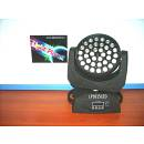 TESTA MOBILE  LED CON 36LEDX15W RGBWA 5IN1 FULL COLOR+ZOOM LIGHTPLANET LP3615LED
