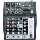 TECHNOSOUND NT6 MIXER ANALOGICO A 6 CANALI CON MP3  USB PLAYER E EFFETTI