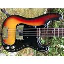 "1977 Fender Precision Bass Sunburst - Narrow Rosewood Neck ""A"" - OHSC"