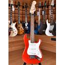 Squier (by Fender) Affinity Mini Stratocaster Rosewood Fingerboard Transparent Red