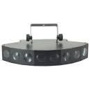 EXTREME 8-EYES 8 X 3W RGBW LED CREE EFFETTO LUCE BEAM 8 LEDS 24W DMX 8 CANALI EFFETTI ANGOLO BEAM 4Â