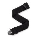 D'Addario JD50BAL01 Auto Lock Guitar Strap, Black Padded Stripes