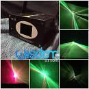 effetto luce laser oleografico non a puntini fx tunnel laser verde rosso 150mw