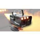 BEAMZ S700 LED SMOKE MACHINE MACCHINA DEL FUMO CON 3 LED AMBRA CON EFFETTO FIAMMA