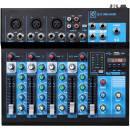 Oqan - Q5 MK2 USB- Mixer 5 canali con USB/Bluetooth MP3 player spedizione inclusa