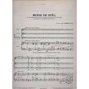 SPARTITO PARTITURA MUSICA CANTO ORGANO DE LA TOMBELLE MESSE DE NOEL OLD