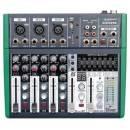 ZZIPP ZZMXE5B MIXER 5 CANALI CON EFFETTI VOCE USB MP3 BLUETOOTH