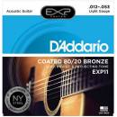 Daddario - EXP11 Coated Light 12-53
