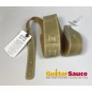 Magrabò Guitar Strap Holes Color Waxed Verde Fango 6 cm