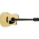 IBANEZ PF15ECE NT Acoustic-Electric Cutaway Guitar Gloss