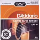 Daddario - EXP10 Coated Extra Light 10-47
