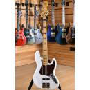 Fender American ULTRA Jazz Bass V Maple Neck Arctic Pearl