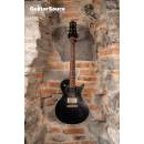 Nik Huber Krauster II Onyx Black Worn Flame Maple Neck 2014 Used