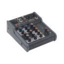 Soundsation Miomix 104 - Mixer Audio Professionale A 5 Canali Con Effetto Eco Digitale