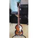HOFNER HI-BB-SB Violin Bass 'Ignition' sunburst finish