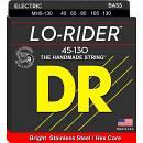 DR STRINGS MH5-130 LO-RIDER -MUTA PER BASSO  5 CORDE 045/130 SPEDITO GRATIS!