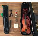 Violino Gewa Allegro 4/4 completo di accessori, leggio, mentoniera, resina...