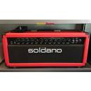 Soldano Lucky 13 Head 100 Watt Tolex Custom Red Used Perfect Condition
