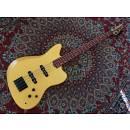 Bnj Guitars JAG 749 Matte Gold ( Fender Jaguar Style)