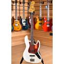 Fender Made in Japan Traditional MIJ 60s Jazz Bass Rosewood Fingerboard Arctic White