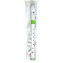 NUVO FLAUTO DOLCE SOPRANO IN DO 310WGR WHITE/GREEN