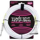 Ernie Ball 6047 Cavo Strumento PVC White - 6 metri