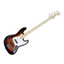 Fender Jazz Bass American Mn 3color Sunburst - Basso Elettrico Tastiera In Acero Sunburst 3 Colori