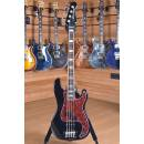 Lakland Skyline 44-64 Custom PJ Rosewood Fingerboard Black