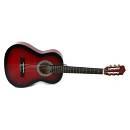 Muses CG30012RDS - chitarra classica un mezzo - colore rosso sfumato