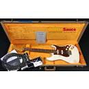 Fender Custom Shop Stratocaster 63 Heavy Relic HSS White Blonde 2013 Used
