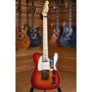 Fender American Elite Telecaster Maple Fingerboard Aged Cherry Burst