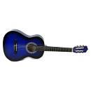 Muses CG30012BLS - chitarra classica un mezzo - colore blu sfumato