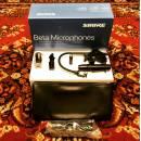 SHURE BETA 98/S + A98D| MICROFONO A CONDENSATORE + SUPPORTO