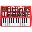 Arturia Microbrute Red - Limited Edition - Sintetizzatore Analogico 25 Tasti Mini Rosso