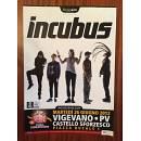 Locandina originale INCUBUS Live 2012